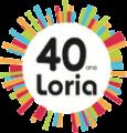 Logo 40 ans du Loria