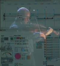 Score Following Screenshot for Partita I